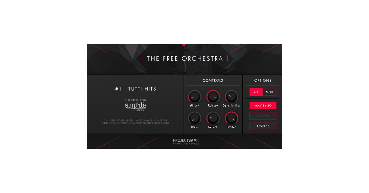 project sam's the free orchestra vst