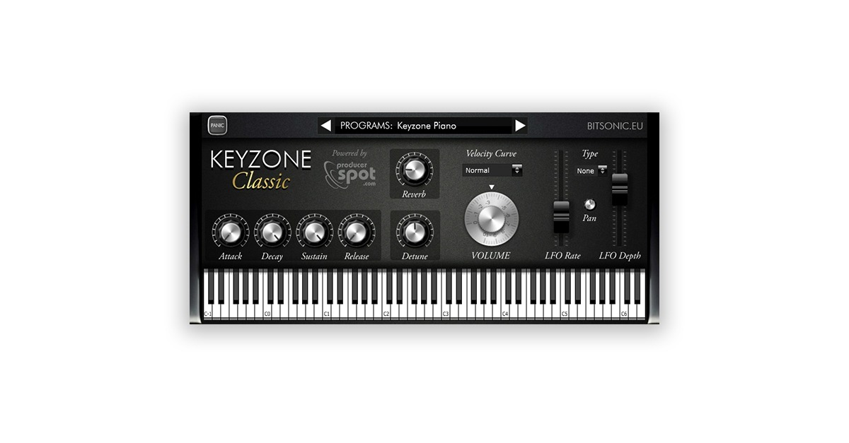 keyzone classic free vst