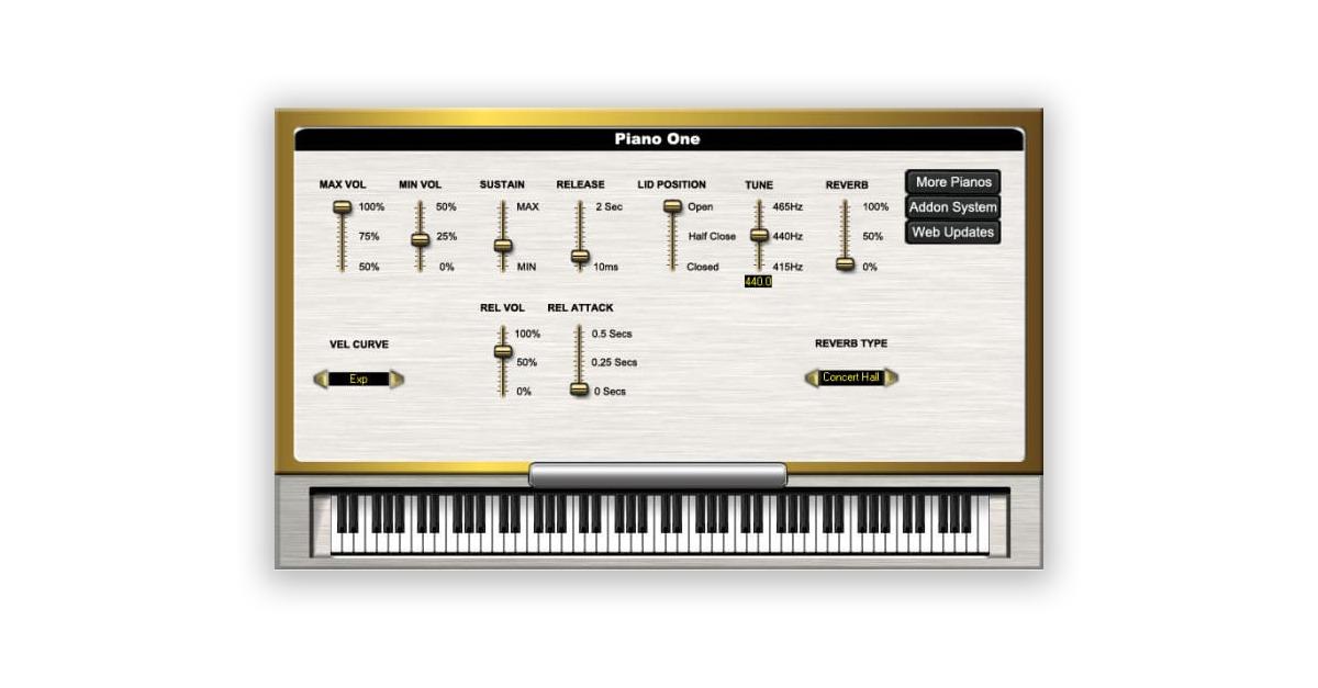 soundmagic piano one