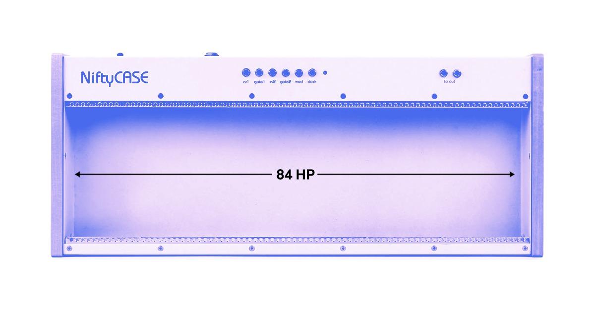 modular synth HP case