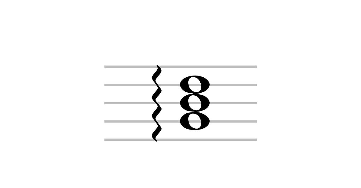 arpeggio symbol