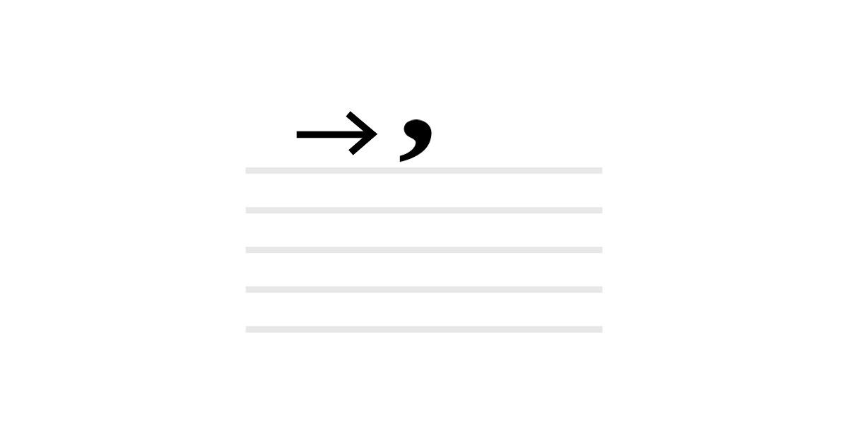 breath mark symbol
