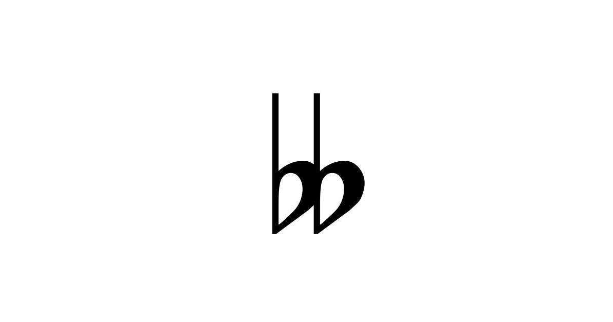 double flat symbol