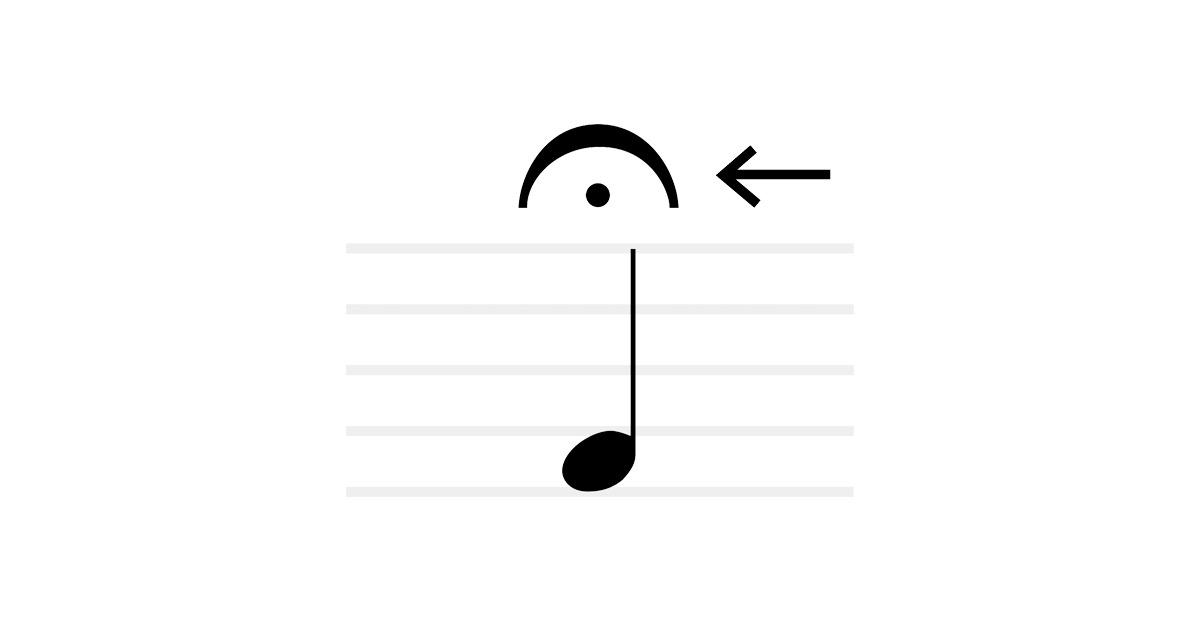 fermata symbol