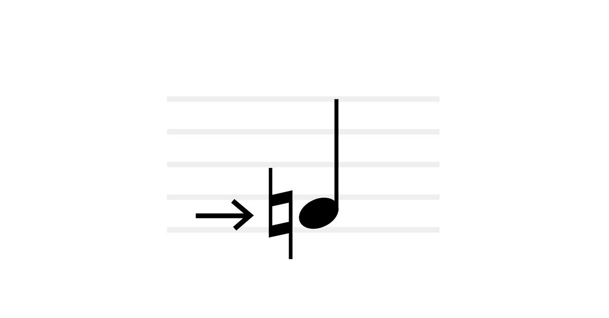 natural symbol