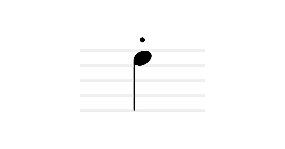 stacatto symbol