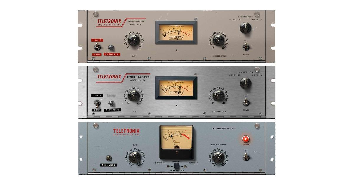 vocal compressor plugin LA 2A