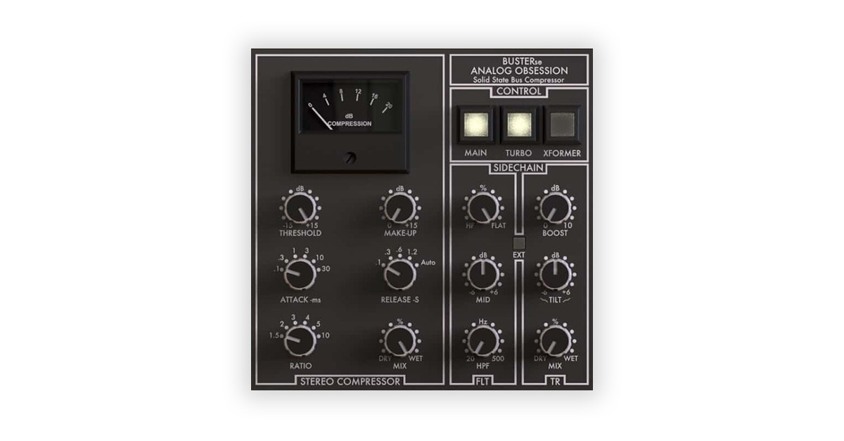 Analog Obsession BusterSE free plugin