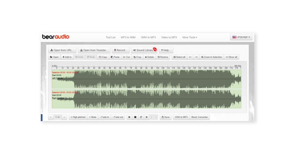 bear audio tool