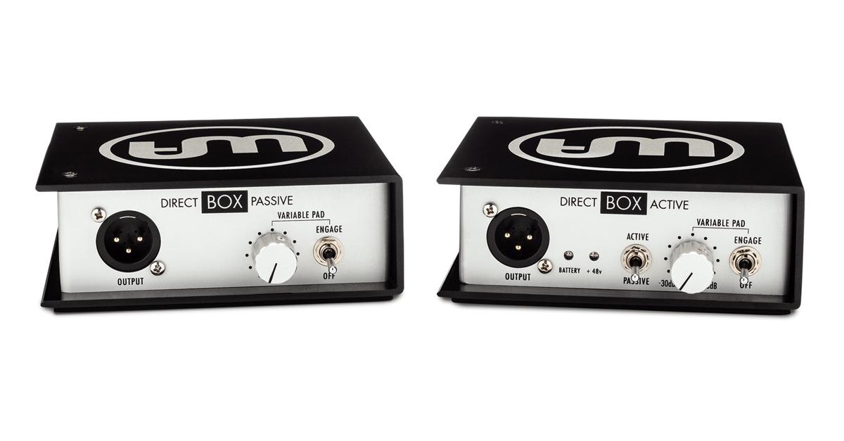 warm audio direct boxes