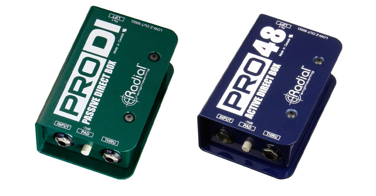 radial pro48 and pro di