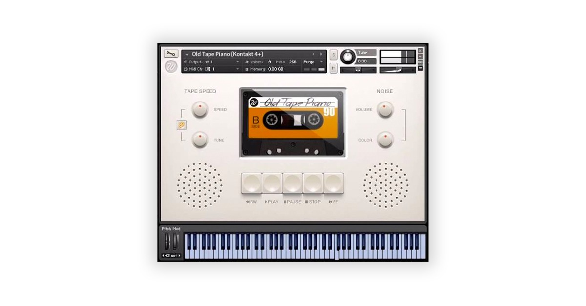 Wavesfactory Old Tape Piano
