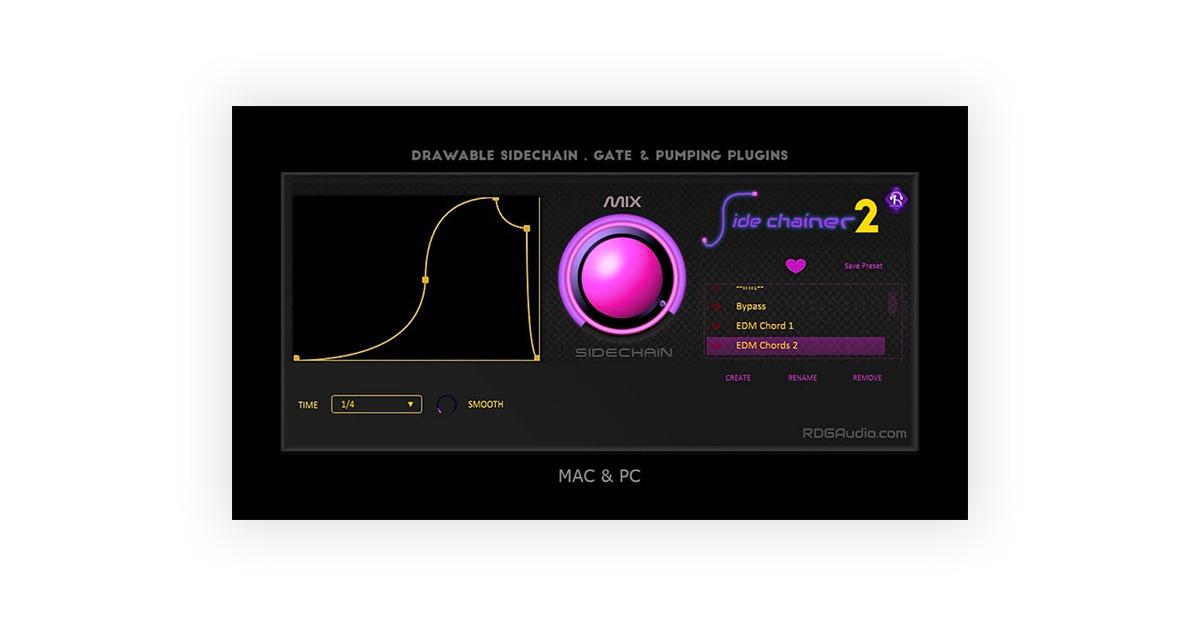 rdg audio sidechainer 2