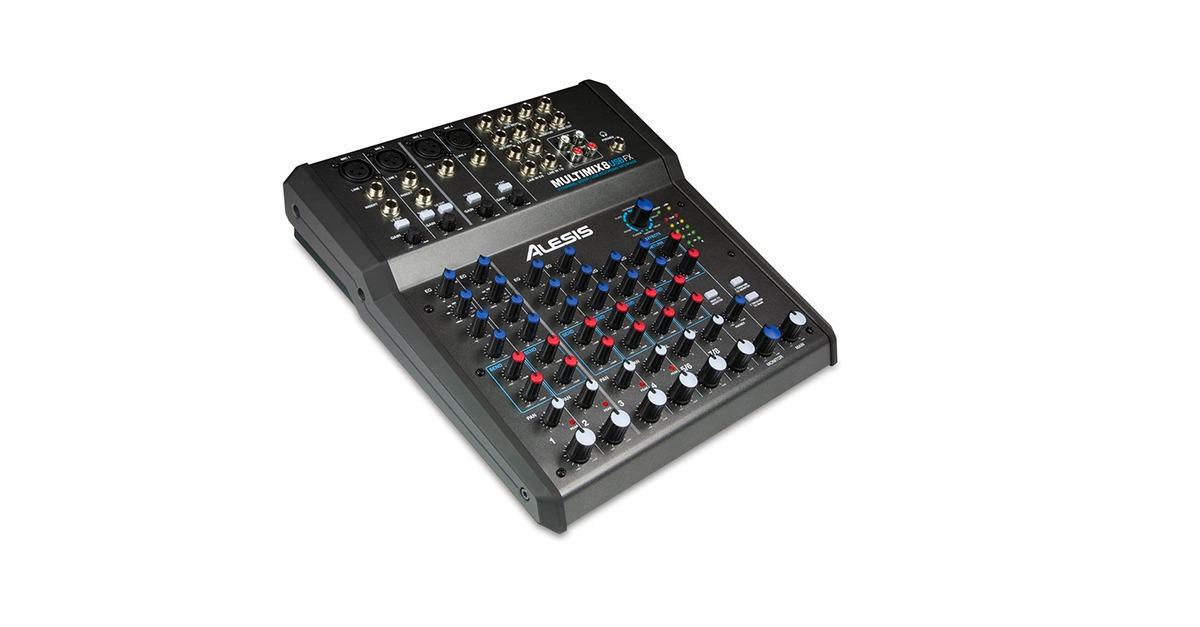 alesis multimix usb mixer