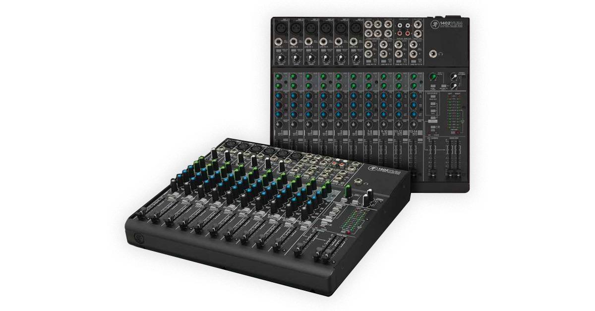 mackie vlz analog mixer