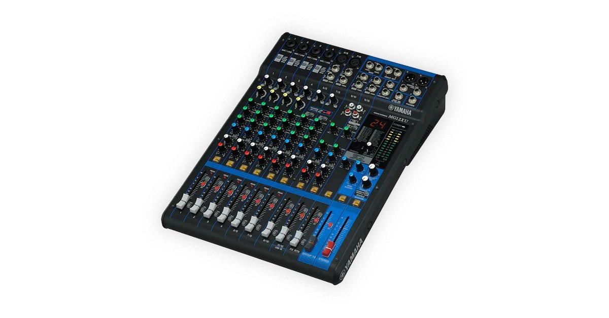 yamaha mg series mixers
